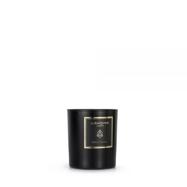 Vanilla Black Fragranced Candle
