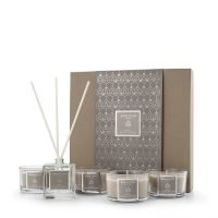 Set of 4 Fragranced Candles and 50ml Fragranced Diffuser